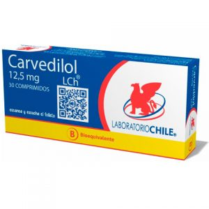 Carvedilol 12.5 mg