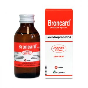 Broncard Jarabe 120 ml