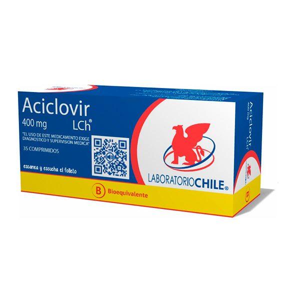 Aciclovir 400 mg 35 comprimidos