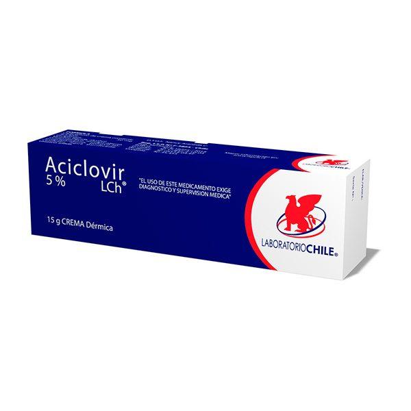 Aciclovir 5% 15 g crema dérmica