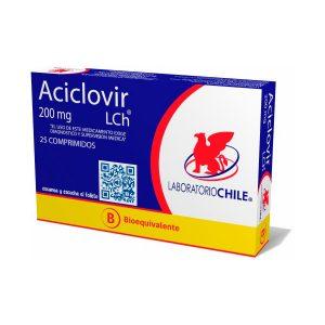 Aciclovir 200 mg 25 comprimidos