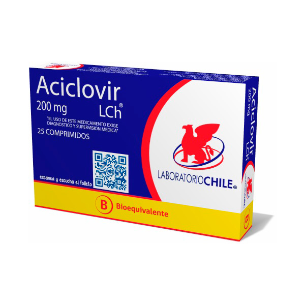 Aciclovir 200 mg