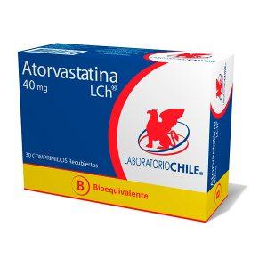 Atorvastatina 40 mg 30 comprimidos