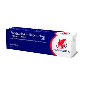 Bacitracina neomicina 15 g unguento dérmico