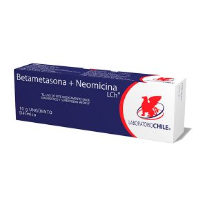 Betametasona + Neomicina 10 g unguento dérmico