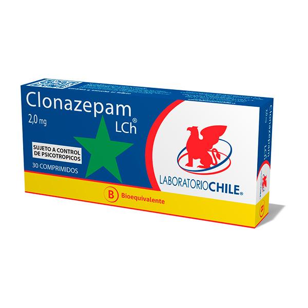 Clonazepam 2,0 mg