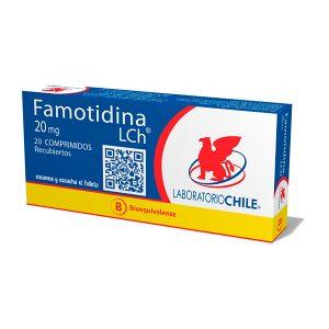 Famotidina 20 mg 20 comprimidos recubiertos
