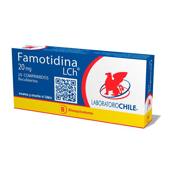 Famotidina 20 mg