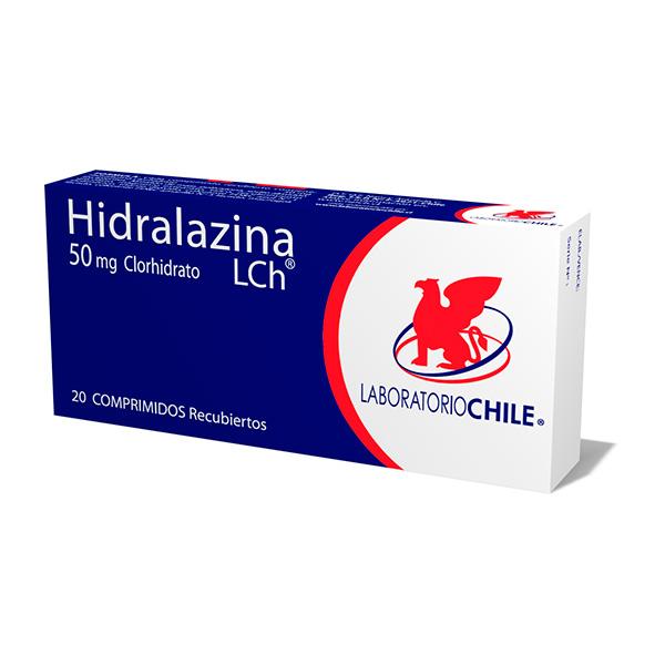 Hidralazina Clorhidrato 50 mg