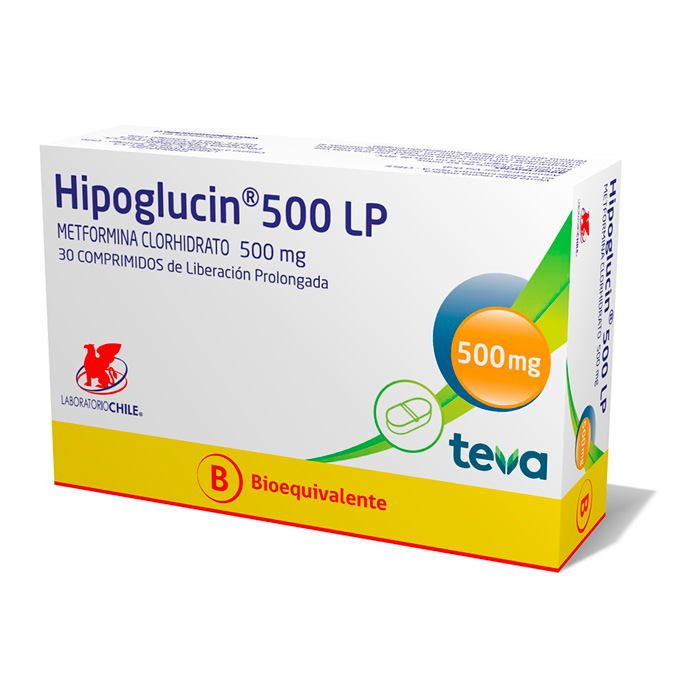 Hipoglucin 500 LP