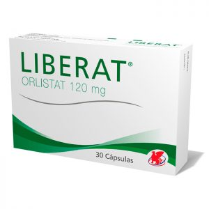Liberat 120 mg 30 cápsulas