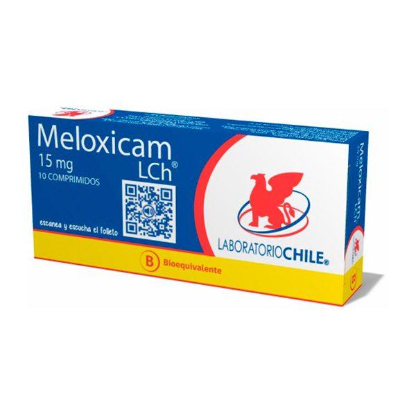 Meloxicam 15 mg 10 comprimidos