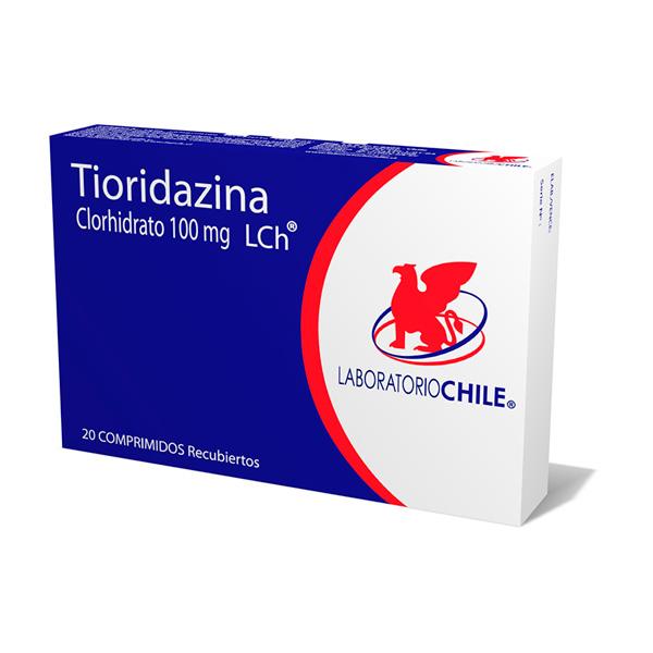 Tioridazina Clorhidrato 100 mg