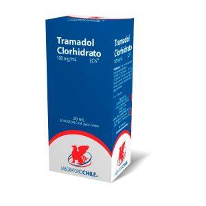 ramadol Clorhidrato 100 mg/ml 20 ml solución oral para gotas