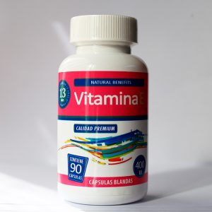 Vitamina E 400 UI 90 cápsulas