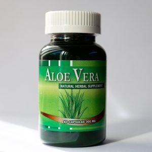 Aloe Vera 300 mg 60 cápsulas