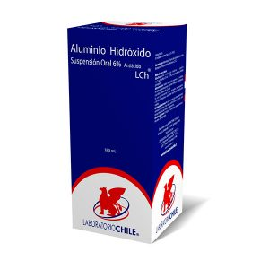 aluminio hidróxido suspensión oral antiácido