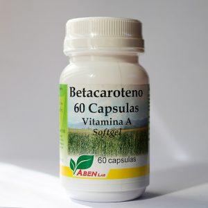 Betacaroteno 60 cápsulas