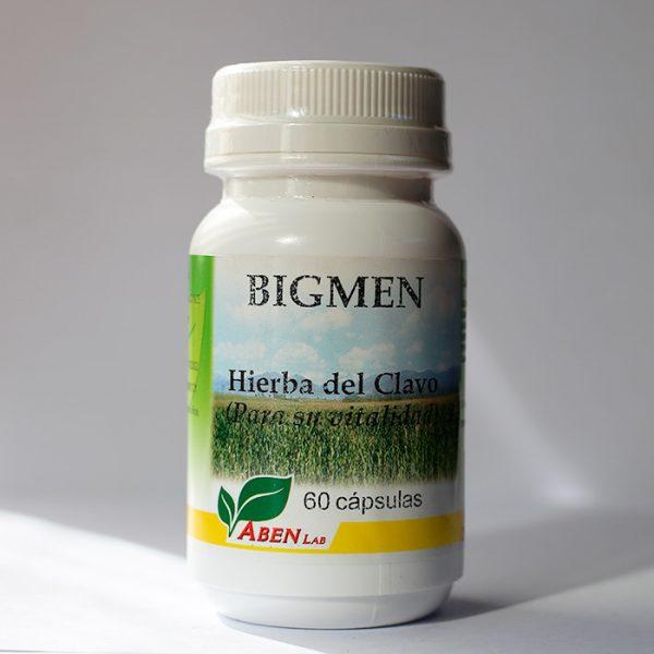 Bigmen Hierba del clavo 60 cápsulas