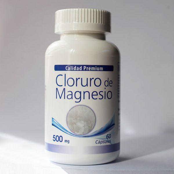 Cloruro de magnesio 500 mg 60 cápsulas