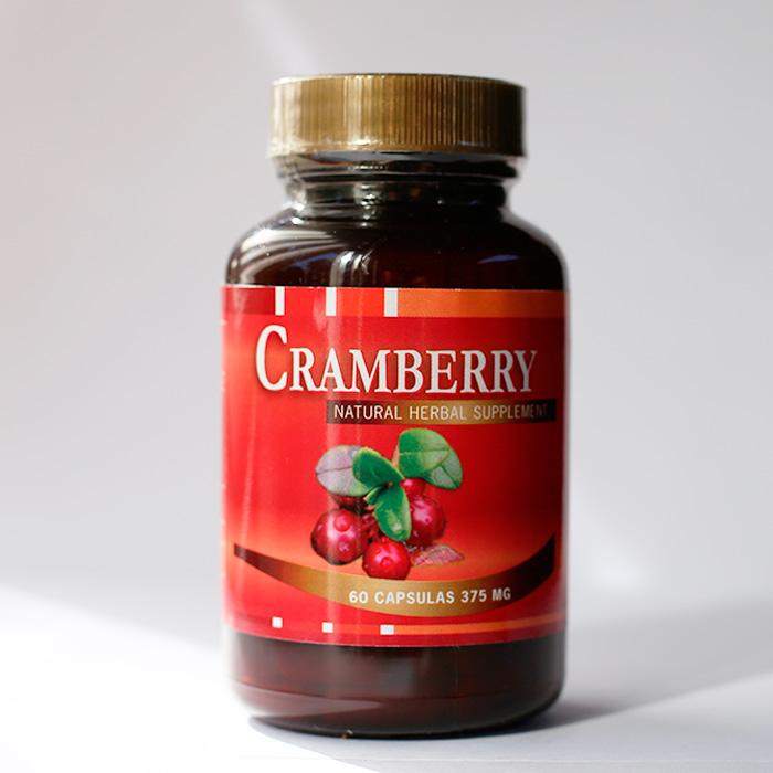 Cramberry 375 mg 60 cápsulas