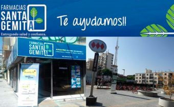 Farmacia Santa Gemita en la comuna de Ñuñoa
