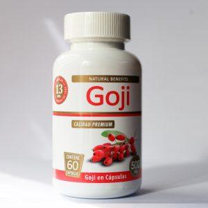 Goji 500 mg 60 cápsulas