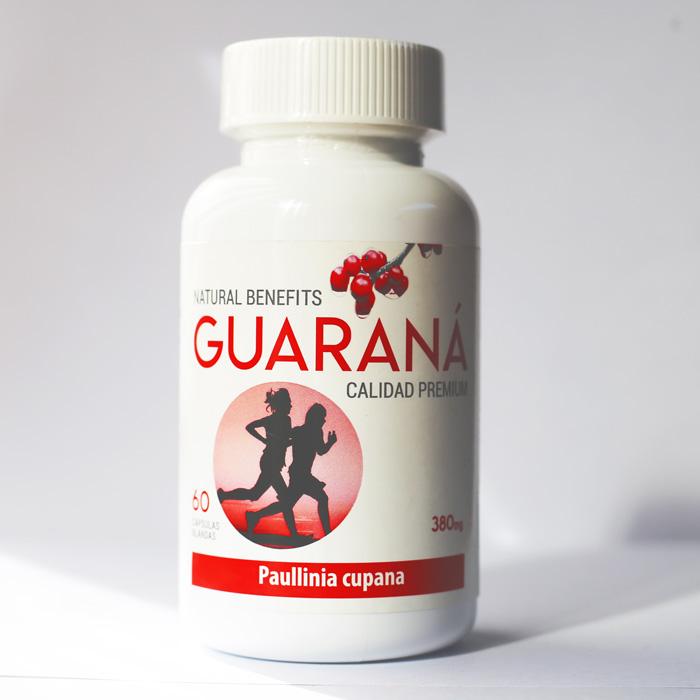 Guaraná 380 mg 60 cápsulas