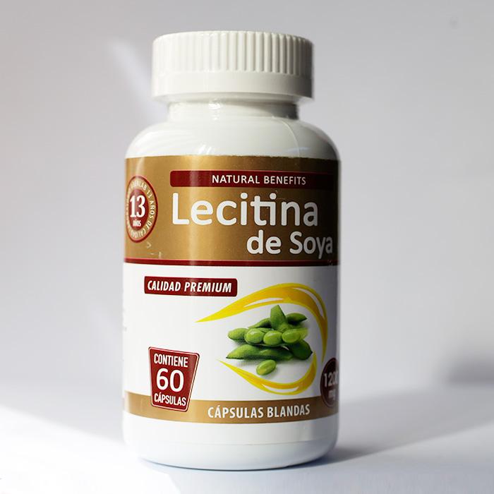 Lecitina de Soya 60 cápsulas