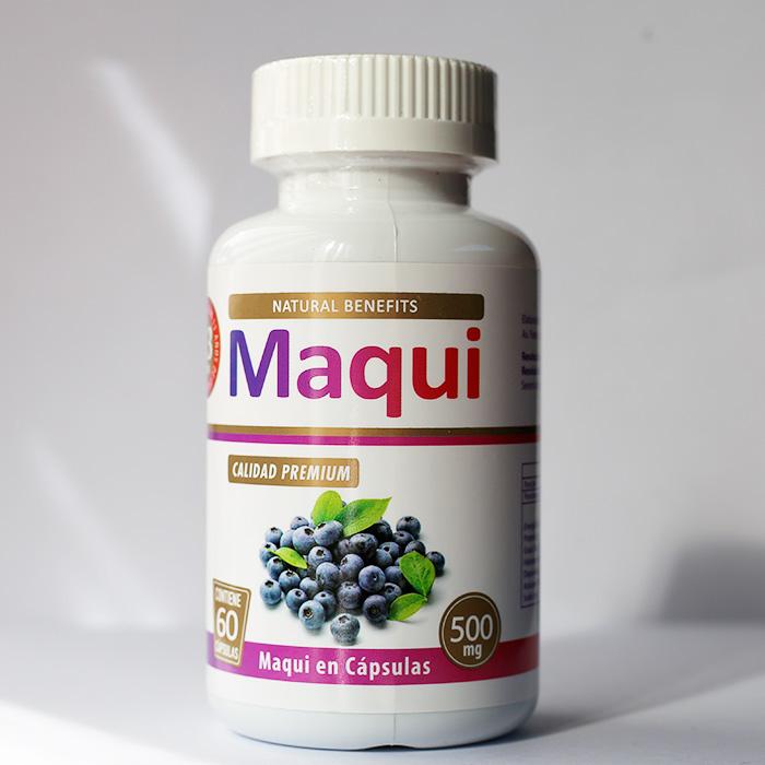 Maqui 500 mg 60 cápsulas