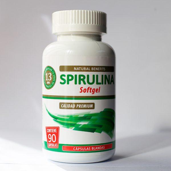 Spirulina Softgel 90 cápsulas