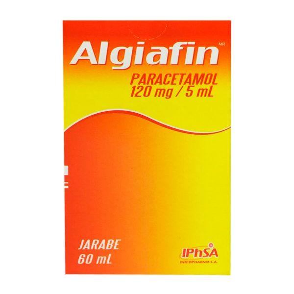 Algiafin paracetamol jarabe 60 ml