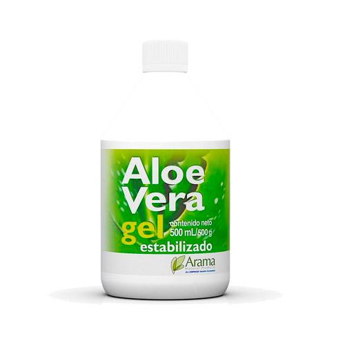 Aloe Vera gel estabilizado