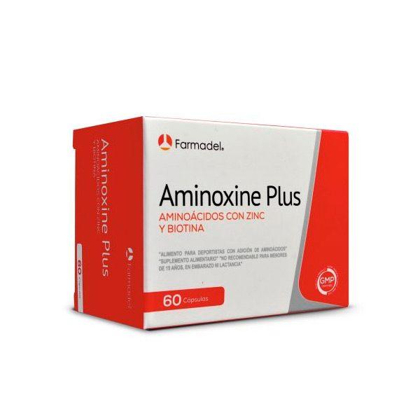Aminoxine plus 60 cápsulas