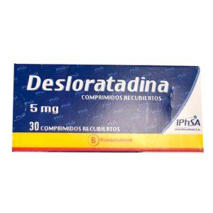 Desloratadina 5 mg 30 comprimidos recubiertos