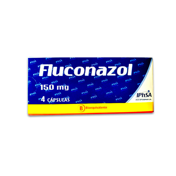 Fluconazol 150 mg 4 cápsulas