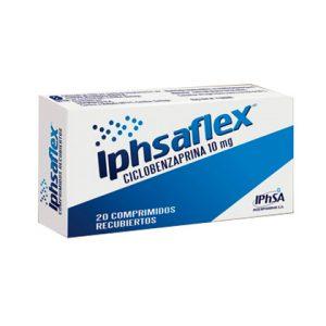 Iphsaflex ciclobenzaprina 10 mg 20 comprimidos recubiertos