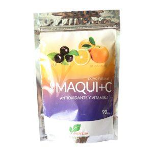 Maqui + C antioxidante y vitamina 90 g