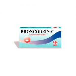 Broncodeína 20 comprimidos masticables