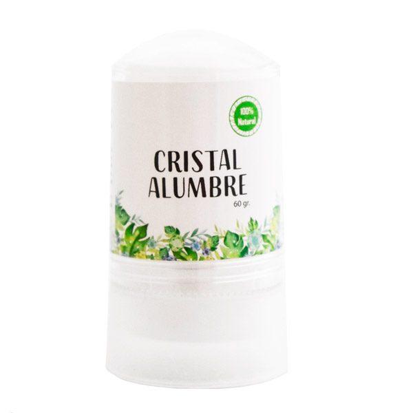 Cristal alumbre desodorante hipalergénico