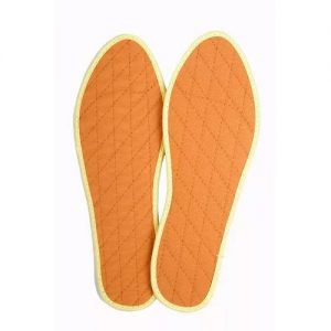 plantillas para los pies de algodón y canela