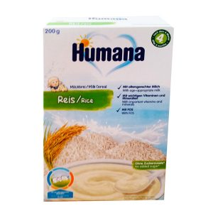Humana Rice 200 g Cereal de arroz sin gluten
