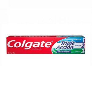 Colgate triple acción menta 75 ml