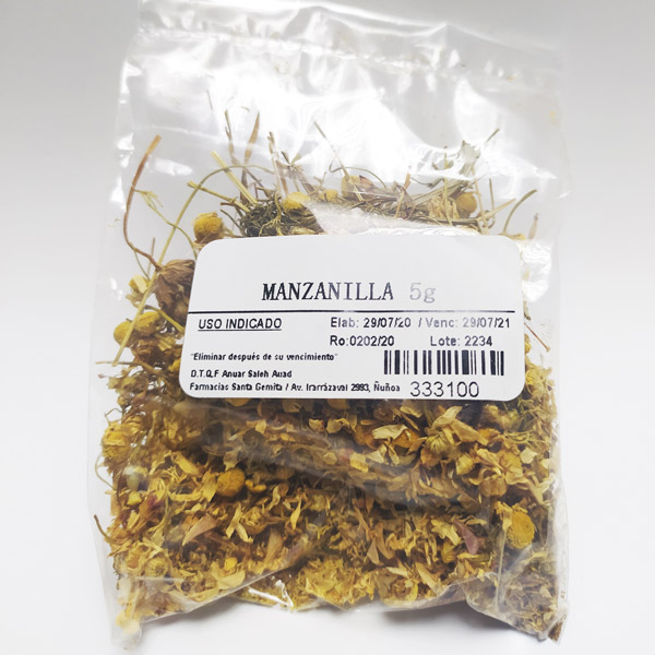 Manzanilla 5 gramos