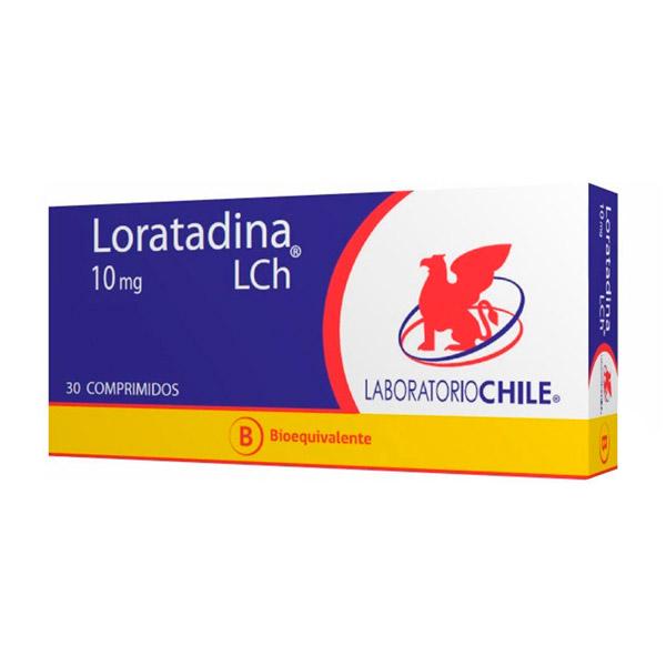 Loratadina 10 mg 30 comprimidos