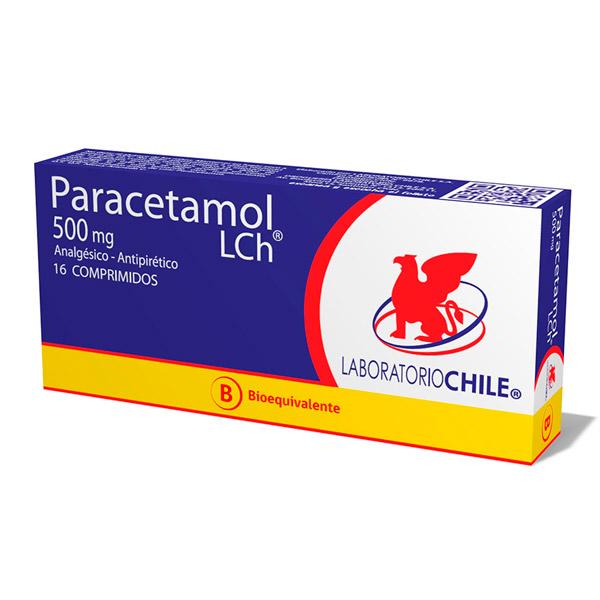 Paracetamol 500 mg 16 comprimidos