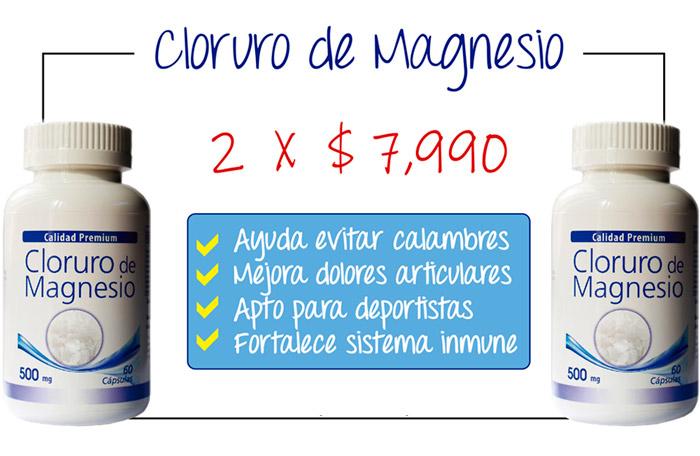 Oferta pote de cloruro de magnesio Laboratorio Aben Lab