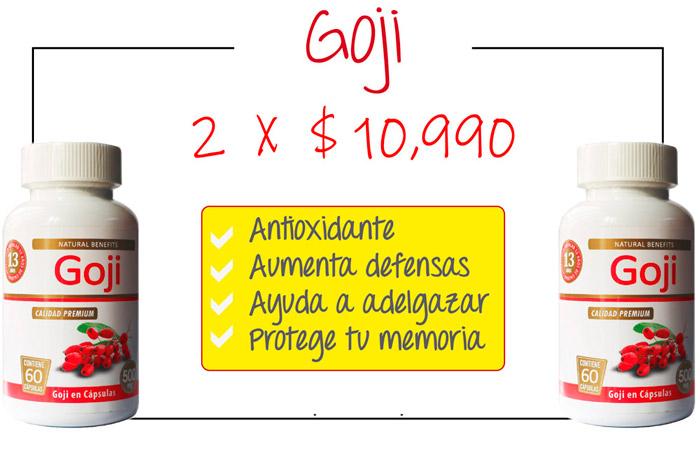 Oferta pack de potes goji laboratorio Aben Lab