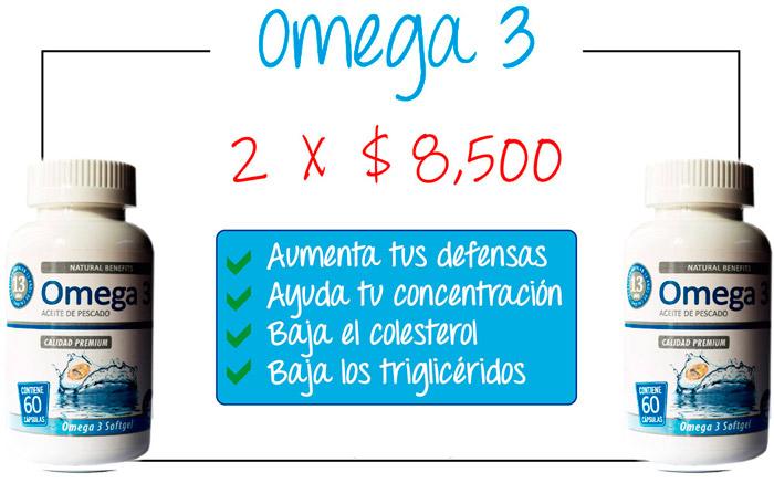 Oferta pote de Omega 3 Laboratorio Aben Lab