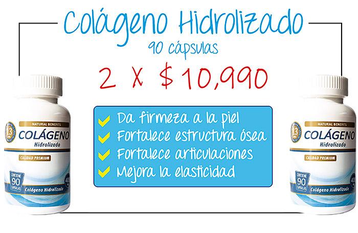 Oferta pack de potes de colágeno hidrolizado aben lab